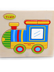 Jigsaw Puzzle Toys Train Not Specified Pieces