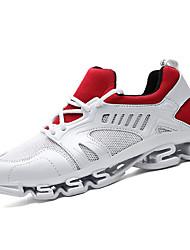 abordables -Femme Chaussures Tulle Polyuréthane Hiver Automne Confort Chaussures d'Athlétisme Course à Pied Talon Plat Bout rond Elastique pour