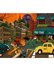 preiswerte -Spielzeug-Autos Holzpuzzle Auto Haus Pferd Hölzern Holz Anime Unisex Geschenk