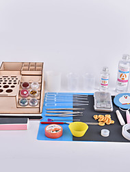 Crab Kingdom® DIY Handmade Crystal Epoxy Tools Kit Assembled by Yourself Upgrade Type