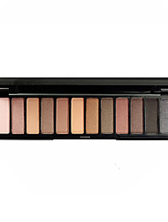 Eye Shadow  Pearl Light Matte Waterproof Professional Make-Up Palette Natural Non-Blooming Eye Shadow