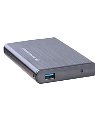 USB3.0 HDD enclosure Hard Disk Box for 2.5 inch SATA HDD High Speed S