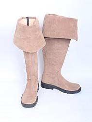 preiswerte -Cosplay Schuhe Cosplay Stiefel Cosplay Cosplay Anime Cosplay Schuhe Leder PU - Leder/Polyurethan Leder Kunstleder Erwachsene Unisex