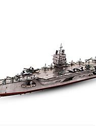 abordables -Puzzles 3D Puzzle Navire de Guerre Porte-avion Papier Enfant Unisexe Cadeau