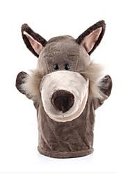 Недорогие -Пальцевые куклы Утка Лошадь Лев Овечья шерсть Зебра Обезьяна Животные Милый Хлопковая ткань Взрослые Подарок
