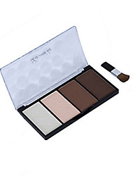 Lidschattenpalette Trocken Lidschatten-Palette Puder NormalAlltag Make-up Halloween Make-up Party Make-up Feen Makeup Cateye Makeup