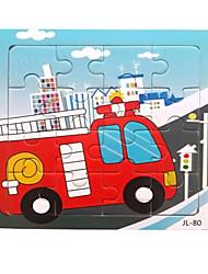 preiswerte -Holzpuzzle Bildungsspielsachen Auto Meerestier Tiere Holz Zeichentrick Unisex Geschenk
