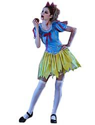Da principessa Fiabe Scheletro/Teschio Costumi da zombie Un Pezzo/Vestiti Costumi Cosplay Accessori Halloween Donna Halloween Carnevale