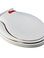 Toilet Seat Fits Most Toilets  Soft Close Mute white