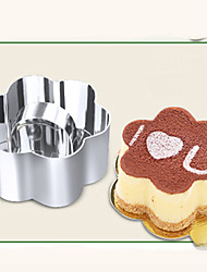 Diy Baking Tools Hot Fashion Cake Mold Stainless Steel Mousse Ring With Push Piece Tiramisu Cutter Home Garden Kitchen Tools