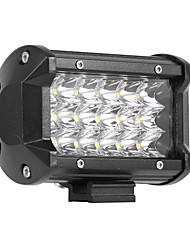 cheap -54W 5400LM 6000K 3-Rows LED Work Light Cool White Spot Offroad Driving Light for Car/Boat/Headlight IP68 9-32V DC