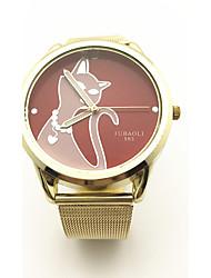 JUBAOLI Dámské Módní hodinky Unikátní Creative hodinky čínština Křemenný Slitina Kapela Zlatá