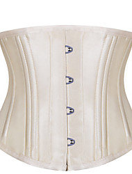 Shaperdiva Vintage Double Steel Boned Short Torso Waist Training Corset