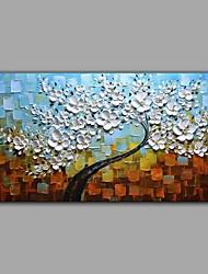 billige -Hånd-malede Blomstret/Botanisk Horisontal panorama, Abstrakt Lærred Hang-Painted Oliemaleri Hjem Dekoration Et Panel