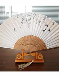 economico -Ventilatori e ombrelloni-Pezzo / Imposta Ventagli Spiaggia Giardino Farfalle Classico Fiaba Vintage Theme Rustico Tema Nappa