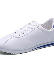 Masculino Tênis Conforto Borracha Primavera Outono Cadarço Rasteiro Branco/Preto Vermelho/Branco Branco/azul Menos de 2,5cm