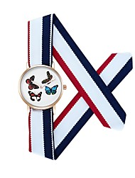 CAGARNY Women's Casual Watch Japanese Quartz / Fabric Band Casual Multi-Colored