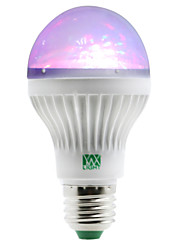 cheap -1W E27 LED Globe Bulbs 5 leds SMD RGB 100-150lm 2800-3200/6000-6500K AC 85-265V