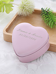 Heart-shaped Metal Favor Holder With Favor Boxes Candy Jars and Bottles-10