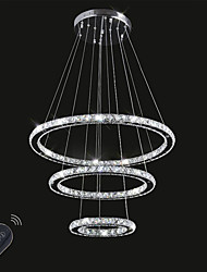 cheap -Chic & Modern Chandelier Ambient Light - Crystal Adjustable Dimmable, 110-120V 220-240V, Dimmable With Remote Control, LED Light Source