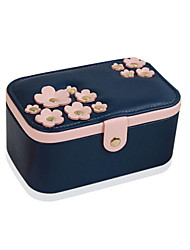 cheap -1Pc  Cherry Blue Simple European Style Korean Hand Jewelry Storage Box