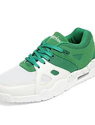 Da uomo scarpe da ginnastica Comoda Suole leggere Maglia traspirante A rete Tulle PU (Poliuretano) Primavera Autunno Sportivo Corsa Lacci