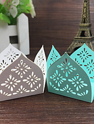 50pcs Chocolate Bar Blue/White Laser Cut Paper Candy Bars Birthday Decoration Kids Wedding Favors And Gifts Party Supplies