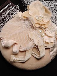 Недорогие -тюль flannelette ткань шелковые сетки факсимиляторы головной убор элегантный стиль