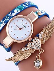 Women's Bracelet Watch Digital Metal Band Black White Blue Silver Red