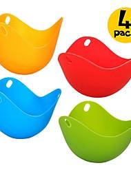 economico -4 pezzi Utensili uovo For per Egg Silicone Nuovo arrivo Alta qualità