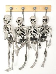 1PC Halloween Skeleton Children Size Hanging Props Haunted Decoration House Skull Skeleton Model Bones