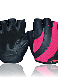 cheap -BOODUN/SIDEBIKE® Sports Gloves Bike Gloves / Cycling Gloves Wearable Wearproof Article Glances Protective Fingerless Gloves Leather