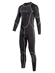 cheap -Bluedive Men's 2mm Full Wetsuit Thermal / Warm Quick Dry Soft Full Body Sunscreen YKK Zipper Nylon Neoprene Diving Suit Long Sleeves