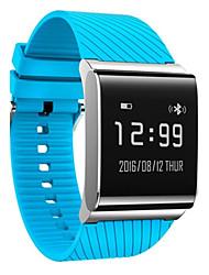 Per uomo Smart watch Orologio alla moda Digitale Silicone Banda Nero Bianco Blu Rosso Verde