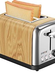 Máquinas Para Fazer Pão Torradeira Saúde Função de reserva Multifunções Desenho Vertical Leve e conveniente 220V