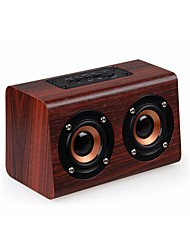 cheap -w7 Bluetooth Bluetooth 4.0 Bookshelf Speaker Yellow Brown