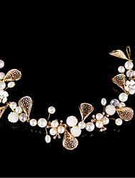 preiswerte -Perle Legierung Stirnbänder Kopfschmuck Hochzeitsgesellschaft elegant femininen Stil