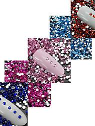 economico -1 Chiodo decorazione di arte strass Perle Cosmetici e trucchi Fantasie design per manicure