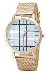 abordables -Hombre Mujer Cuarzo Reloj creativo único Reloj de Pulsera Reloj de Moda Chino Gran venta Aleación Banda Encanto Vintage Casual Elegant