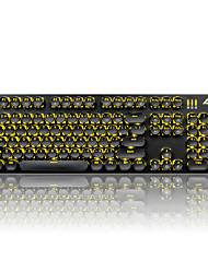 Klíčenky ajazz sada pro mechanickou klávesnici gamimg klávesnice steampunk keycaps 104 kláves