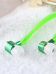 economico -alto auricolare stereo in ear metallo cuffie da 3,5 mm in vivavoce con microfono auricolari per lettori samsung iphone