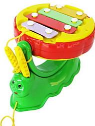 Giocattoli musicali Strumenti giocattoli Giocattoli Lumaca Batteria Giocattoli Plastica Pezzi Per bambini Regalo