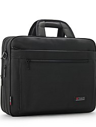 Men Bags All Seasons Oxford Cloth Laptop Bag Zipper for Office & Career Black