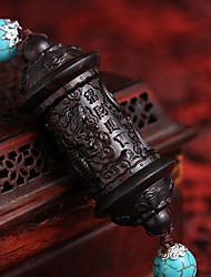 Недорогие -Diy автомобильные подвески китайский стиль будда бисер мир символ автомобиль подвеска&Украшения древесные