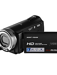 ORDRO HDV-V12 IR Night Vision Camcorder Face Beautification 1080P FHD Remote Control