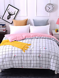 cheap -Comfortable 1pc Duvet Cover, 100% Polyester 100% Polyester Printed 230TC Plaid/Checkered