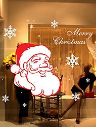 Natale Romanticismo Vacanze Adesivi murali Adesivi aereo da parete Adesivi decorativi da parete,Carta Materiale Decorazioni per la casa