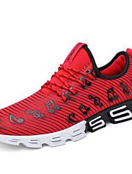 Недорогие -Для мужчин Спортивная обувь Удобная обувь Весна Осень Дышащая сетка Для фитнеса Атлетический Повседневные На эластичной ленте На плоской