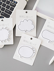 cheap -1 PC Dialogs Self-Stick Notes