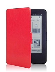 billige -genert bjørn ™ skøre hest læder cover taske til amazon nye Kindle 2014 touch screen (kindle 7th)